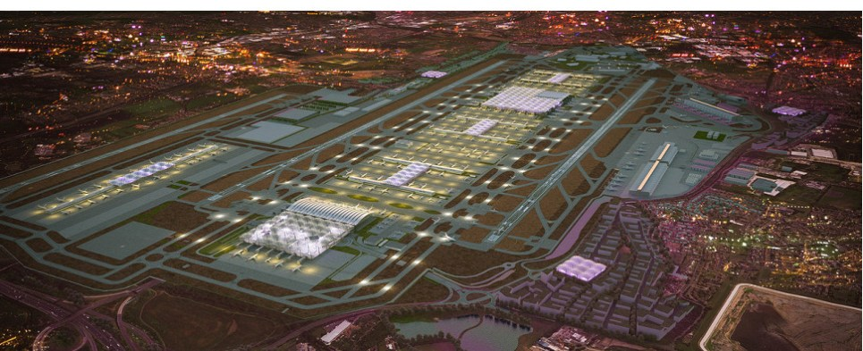 Heathrow expansion will allow the airport to handle more shipments of export cargo and import cargo in international trade.