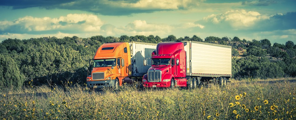 Apps can make more efficient truck shipments of export cargo and import cargo in international trade.