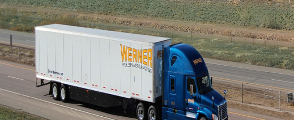 Werner is a trucking company that carries shipments of export cargo and import cargo in international trade.