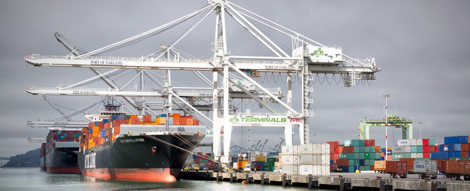 The stronger dollar impacts lelvel of shipments of export cargo and import cargo in international trade.