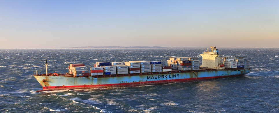 Maersk is scrapping vessels that carried shipments of export cargo and import cargo in international trade.