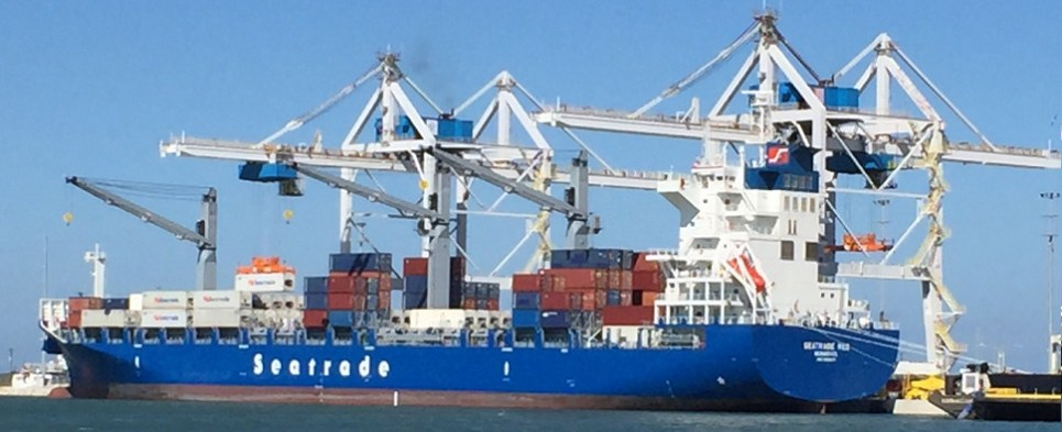 Seatrade Red is a vessel that carries container and reefer shipments of export cargo and import cargo in international trade.