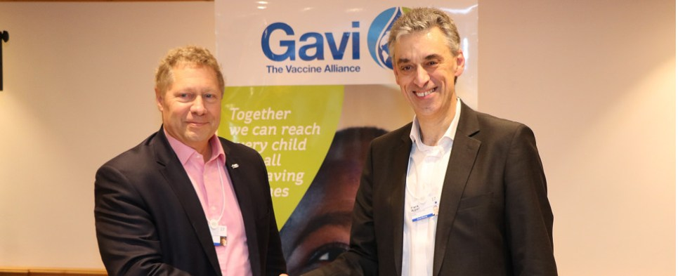 DHL and Gavi are in partnership to deliver vaccine shipments of export cargo and import cargo in international trade.