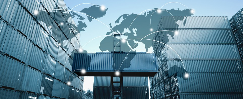 PPolicy uncertainty leads to slowing of shipments of export cargo and import cargo in international trade.