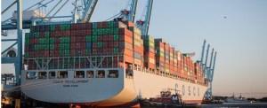 Biggest Vessel in Virginia Port's History Calls
