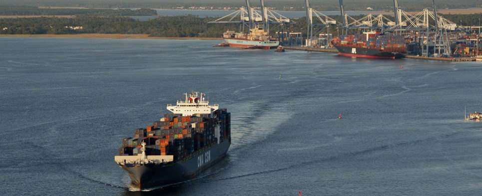 Deepening will allow port to handle more shipments of export cargo and import cargo in international trade.