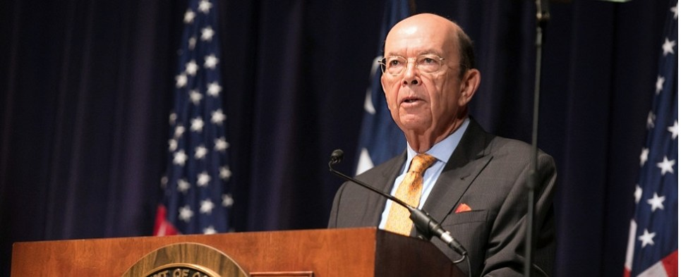 US Commerce Secretary Wilbut Ross discusses sugar shipments of export cargo and import cargo in international trade.