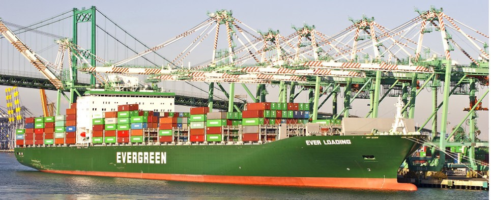 Port of Los Angeles is handling more shipments of export cargo and import cargo in international trade.