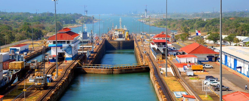 Expansions will allow Panama canal to handle more shipments of export cargo and import cargo in international trade.