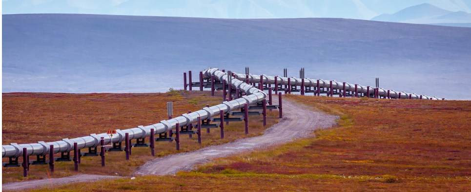 Pipeline would carry oil shipments of export cargo and import cargo in international trade.