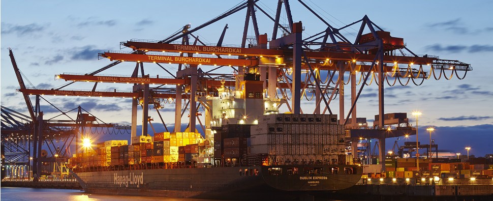 Enviromental efforts by ocean carriers of shipments of export cargo and import cargo in international trade.