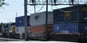 New intermodal terminal will allow CSX to handle more shipments of export cargo and import cargo in international trade.