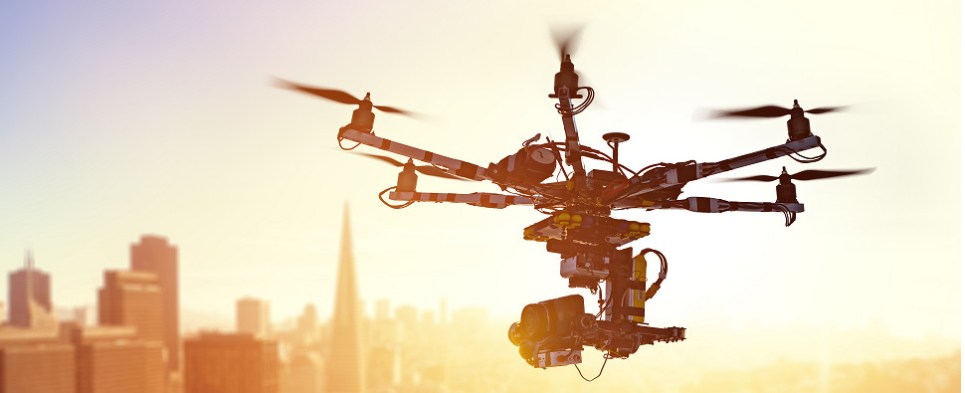 Drones could be used to deliver shipments of export cargo and import cargo in international trade.