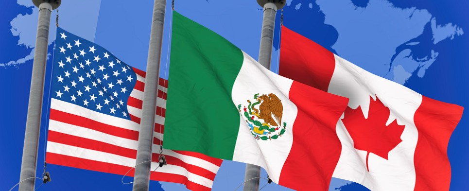 New NAFTA will govern North American shipments of export cargo and import cargo in international trade.