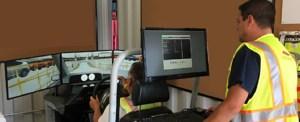 Port Newark Auto Terminal's New Mobile RoRo Training Simulator