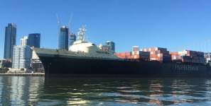 Jones Act vessels carry cargo that are not shipments of export cargo and import cargo in international trade.