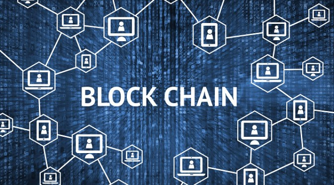 Blockchain secures data associated with shipments of export cargo and import cargo in international trade.