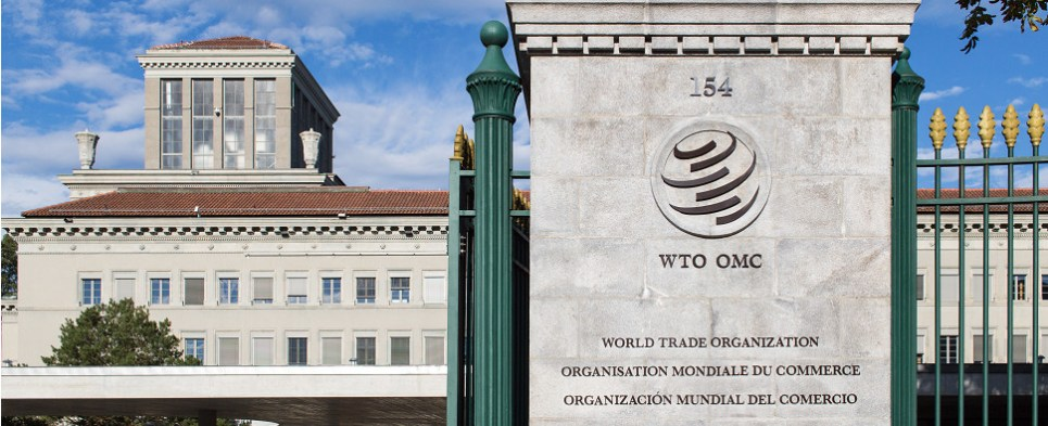 WTO enforces rules on shipments of export cargo and import cargo in international trade.