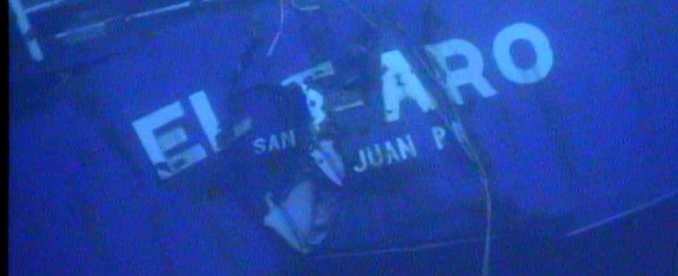 El Faro sank when it was carrying shipments of export cargo and import cargo in international trade.