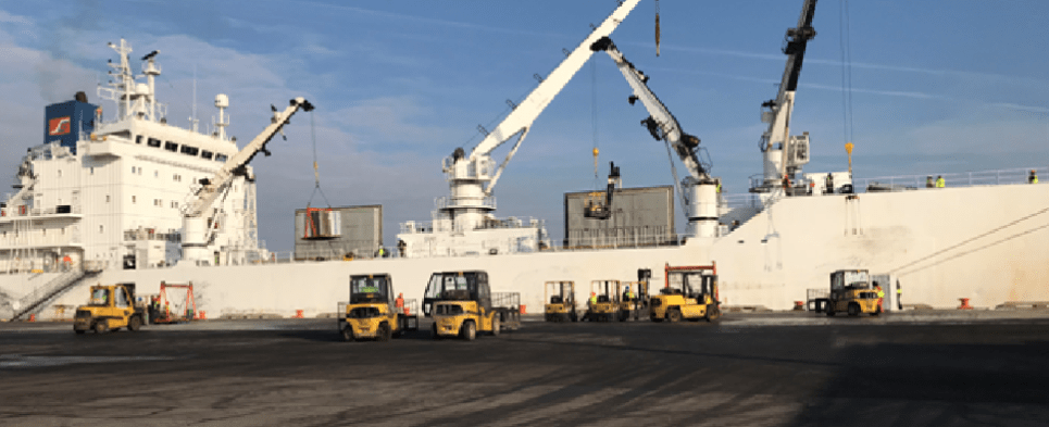 port of Wilmington accepts breakbulk Chilean fruit shipments of export cargo and import cargo in international trade.