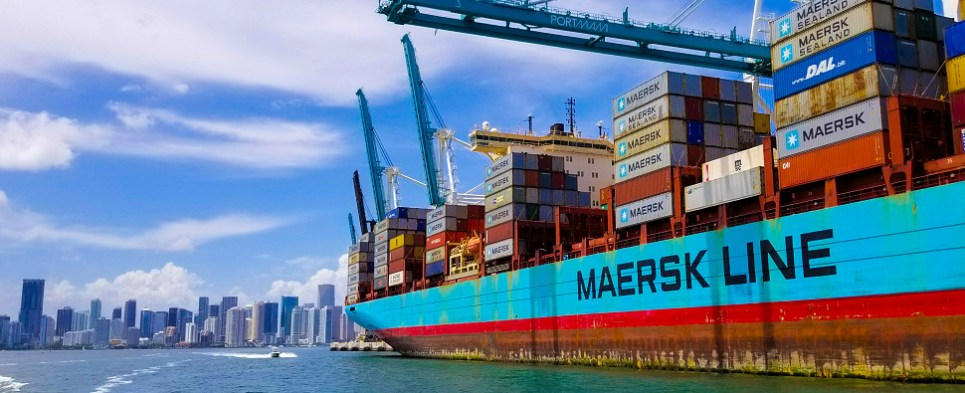 Exchange automates bookings of shipments of export cargo and import cargo in international trade.