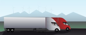 Ruan Reserves Five Tesla Electric Semi Trucks For 2019 Rollout