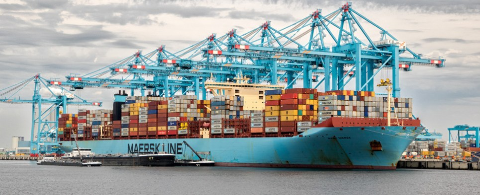 Maersk CCO discusses 2018 outlook for shipments of export cargo and import cargo in international trade.