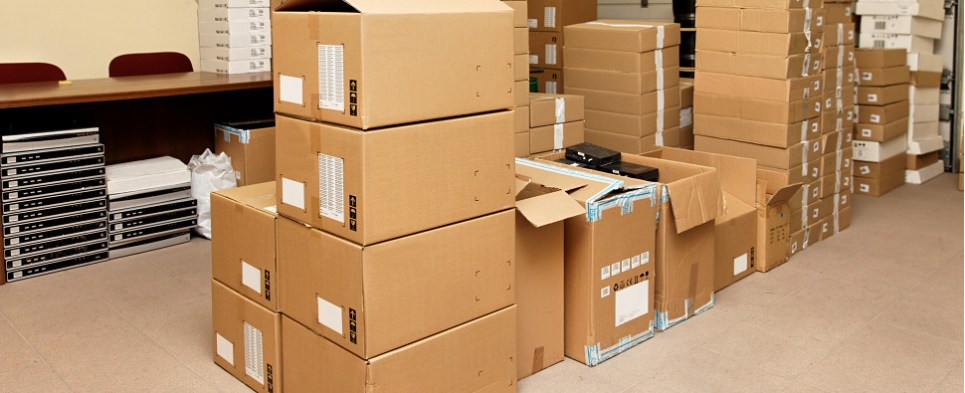 Micro-fulfillment stores shipments of export cargo and import cargo in international trade.