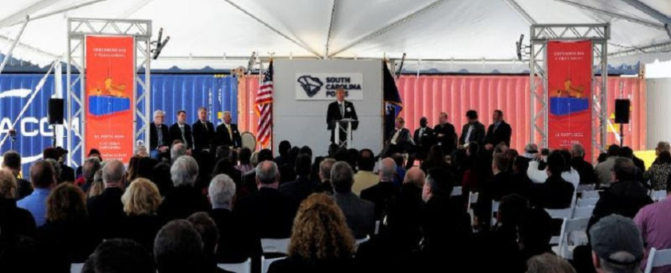 New inland facility will allow port to handle more shipments of export cargo and import cargo in international trade.