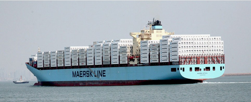 Maersk is looking for innovations for carrying shipments of export cargo and import cargo in international trade.