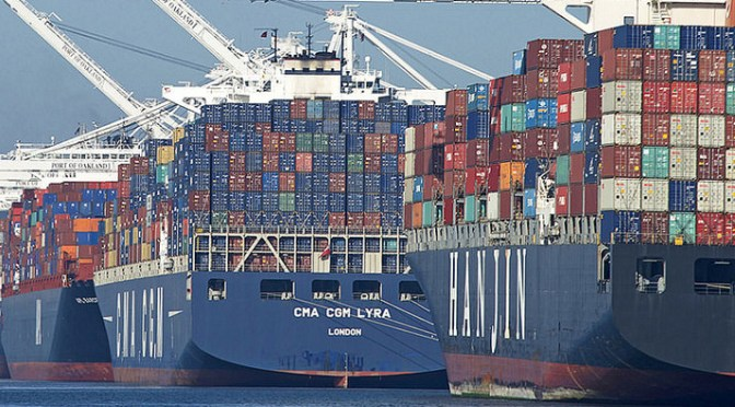 Drewry sees growth in shipments of export cargo and import cargo in international trade between North America and the East Coast of South America.