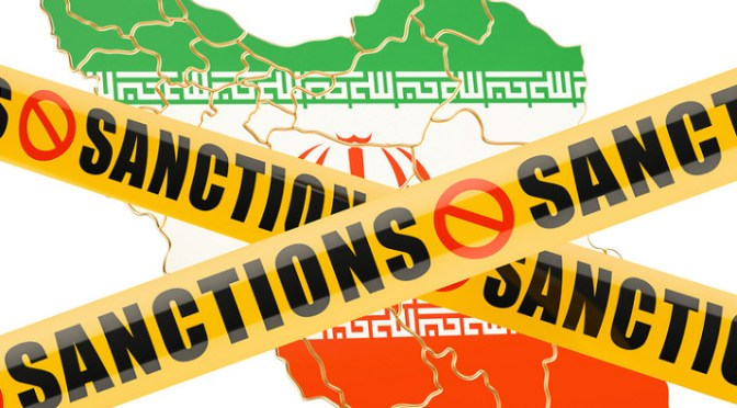 Iran sanctions impact shipments of export cargo and import cargo in international trade.