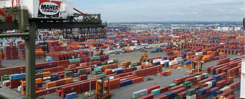 technology facilitates more shipments of export cargo and import cargo in international trade.