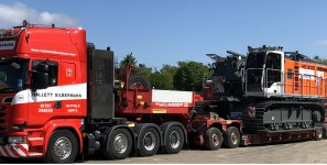 Trucker delivered equipment that appears to have nothing to do with shipments of export cargo and import cargo in international trade.