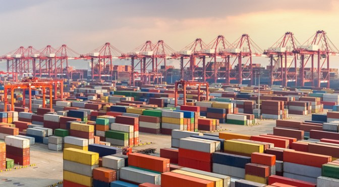 Expansion will allow ports to handle more shipments of export cargo and import cargo in international trade.