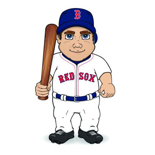 red sox baseball # 74