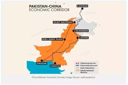 map of china pakistan economic corridor cpec projects global village space