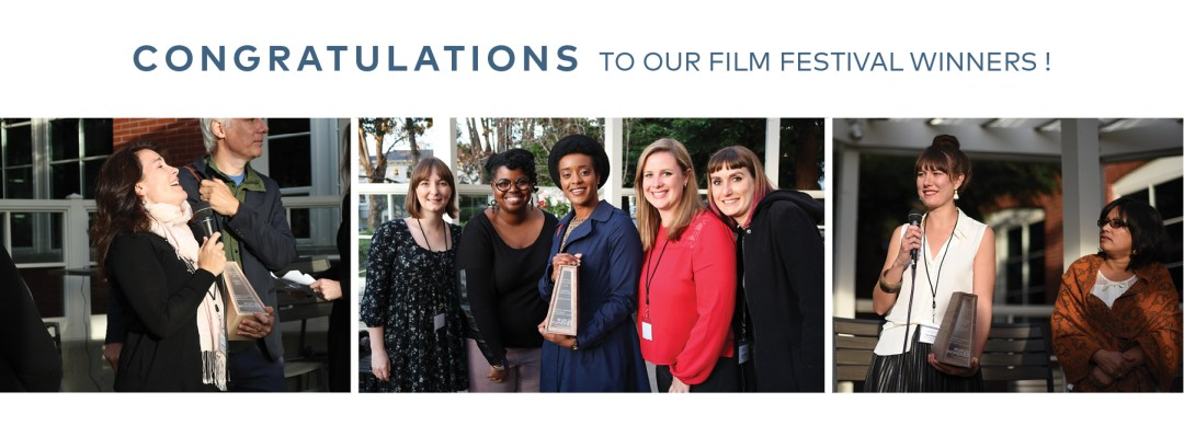 Congratulations to our Film Festival Winners from 2016!