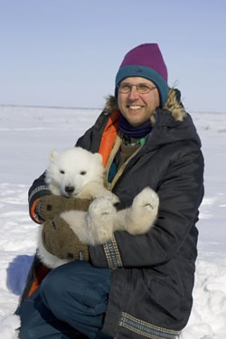 Scientist Studies The Polar Bear I Consider Myself A