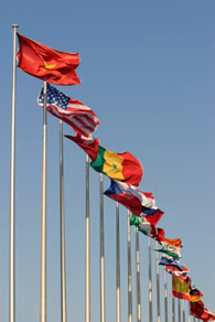 Working toward in internationa climate agreement