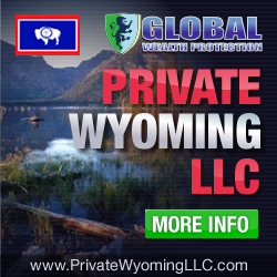 global wealth protection Private Wyoming LLC