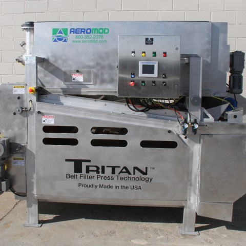 Aero-Mod TRITAN Belt Filter Press