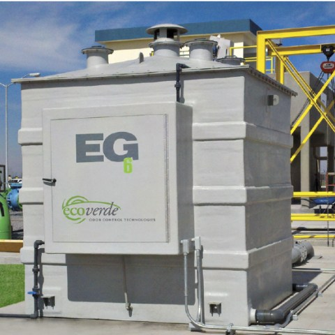 Ecoverde Bioscrubber / Biotrickling Product Solutions