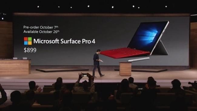 precio surface pro4