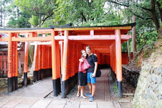 our favourite shrine in Kyoto