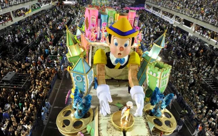 Rio carnival pinoc
