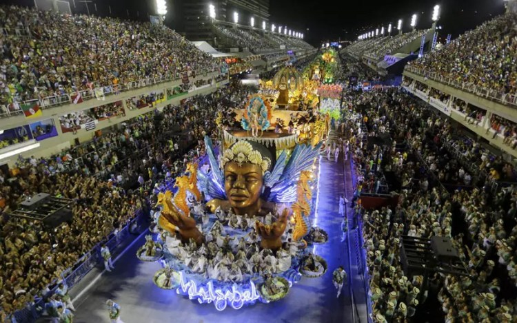 Rio carnival roaad
