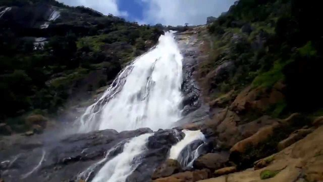 Farin Ruwa waterfalls in Nigeria