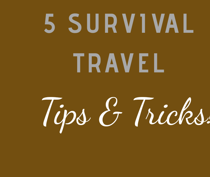 5 Travel Survival Tips and Tricks