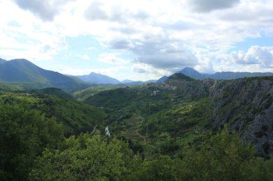 1 route naar Makarska